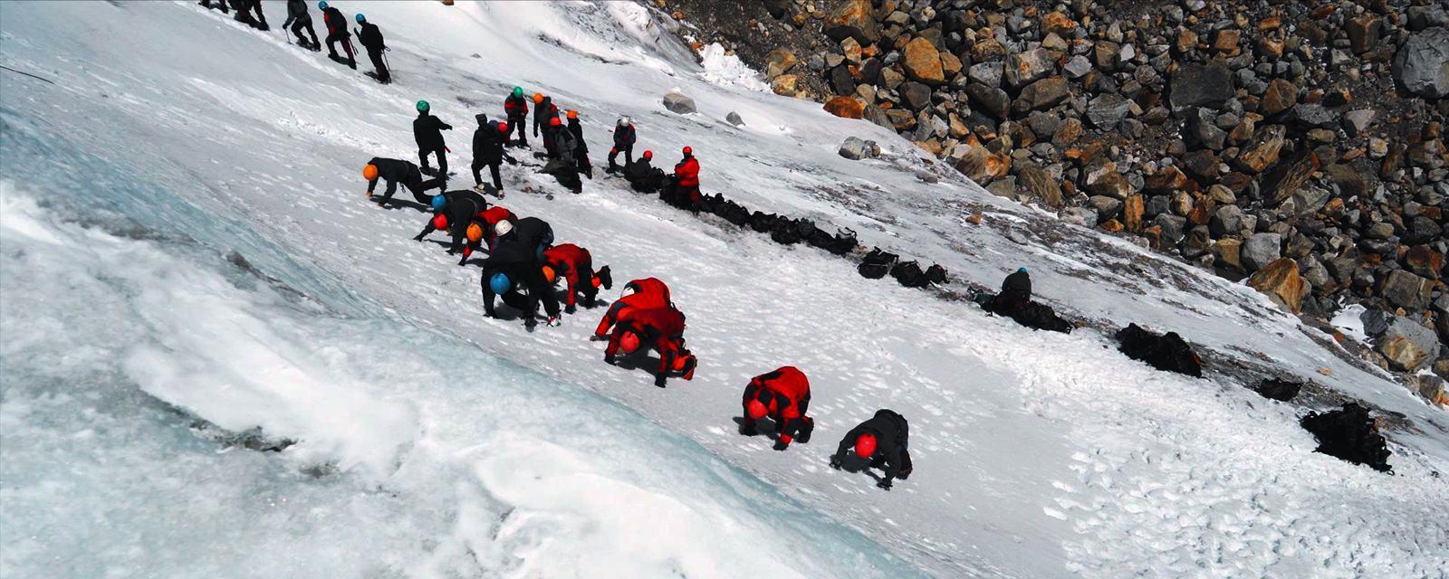 glacier-climbing